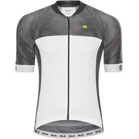 Alé Cycling Formula 1.0 Ultimate Fietsshirt korte mouwen Heren wit/zwart